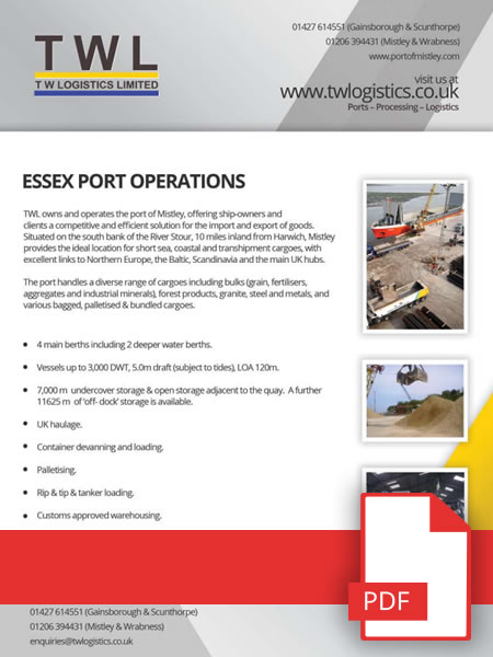 Essex Port Operations Download Available